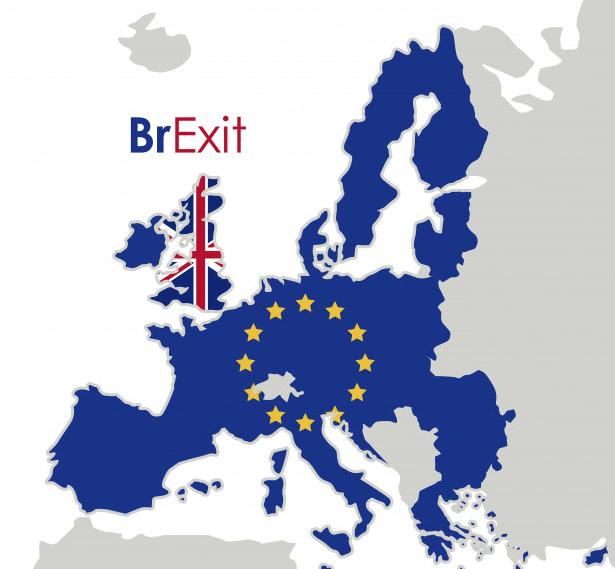 Brexit kort